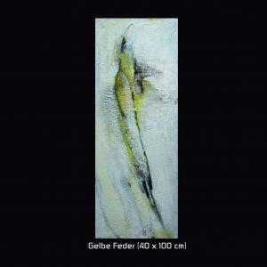 Gelbe Feder