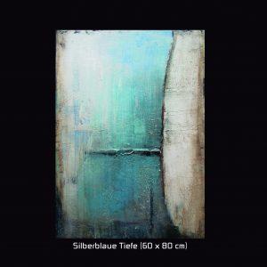 Silberblaue Tiefe